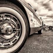 Corvette Rim Art Print