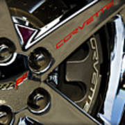 Corvette Spokes II Art Print