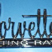 Corvette Sting Ray Art Print