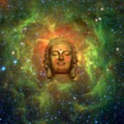 Cosmic Buddha Art Print