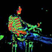 Cosmic Bullfrog Blues Art Print