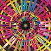 Cosmic Calibrator Art Print