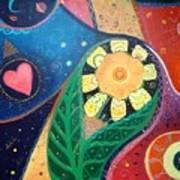 Cosmic Carnival II Aka Duality Art Print