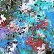 Cosmic Cave Art Art Print