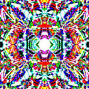 Cosmic Clam Art Print