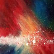 Cosmic Disturbance Art Print