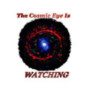 Cosmic Eye 2 Art Print