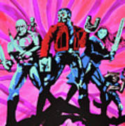 Cosmic Guardians Of The Galaxy 2 Art Print