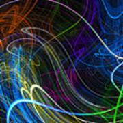 Cosmic Haywires Art Print