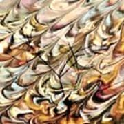 Cosmic Storm Rolling In Art Print