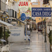 Costa Del Sol   Spain Art Print