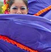Costa Maya Dancer II Art Print