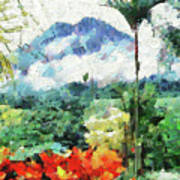Costa Rica Paradise Art Print