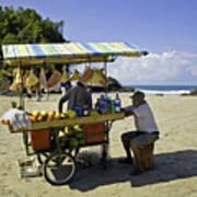 Costa Rica Vendor Art Print