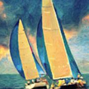 Costa Smeralda Art Print
