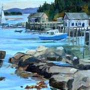 Costal Maine Art Print