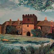 Cotehele Manor House Art Print