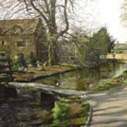 Cotswolds Scene. Art Print