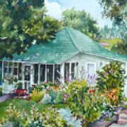 Cottage At Chautauqua Art Print