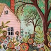 Cottage Garden 1 Art Print