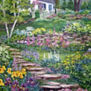 Cottage On The Hilltop Art Print