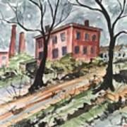 Cotton Mill Art Print