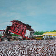Cotton Pickin' Business Art Print