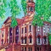 Cottonwood County Courthouse  Art Print