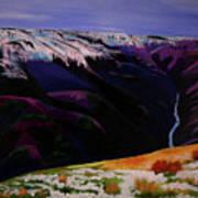 Cottonwood Idaho Art Print