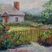 Cottswold Cottage Art Print