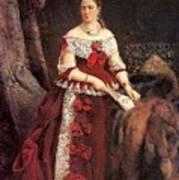 Countess Vera Zubova Konstantin Makovsky Art Print
