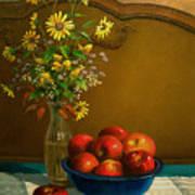 Country Apples Art Print