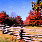 Country Autumn Art Print
