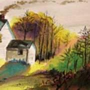 Country Breakfast Art Print