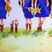 Country Bride Art Print