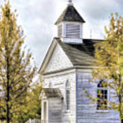 Country Church At Old World Wisconsin Art Print