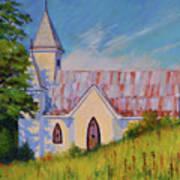 Country Church Art Print