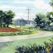 Country Corner Art Print