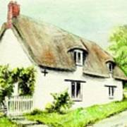 Country Cottage England  Art Print