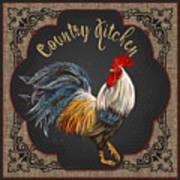 Country Kitchen-jp3764 Art Print