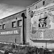 Country Legend Bob Wills In Roy New Mexico Art Print