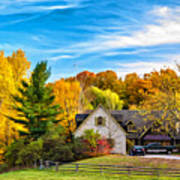 Country Living 2 - Paint Art Print