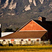 Country Living Boulder County Art Print