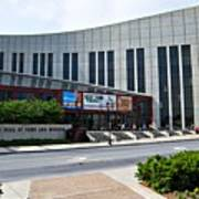 Country Music Hall Of Fame Nashville Art Print