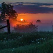 Country Sunrise Art Print