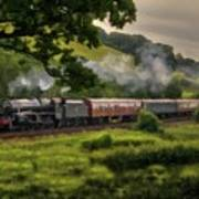 Country Train Ride Art Print