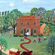 Country Visit Art Print