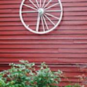 Country Wheel Art Print