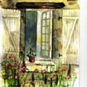 Country Window Art Print