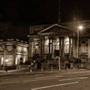 County Sessions House By Night Liverpool Art Print